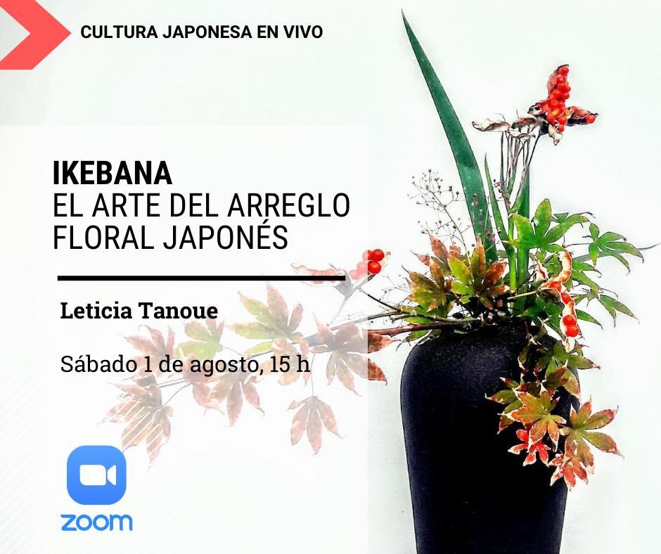 Ikebana por Leticia Tanoue