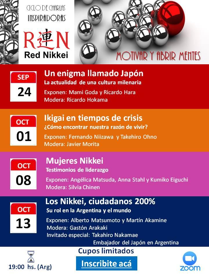 REN - Ciclo de charlas 2020