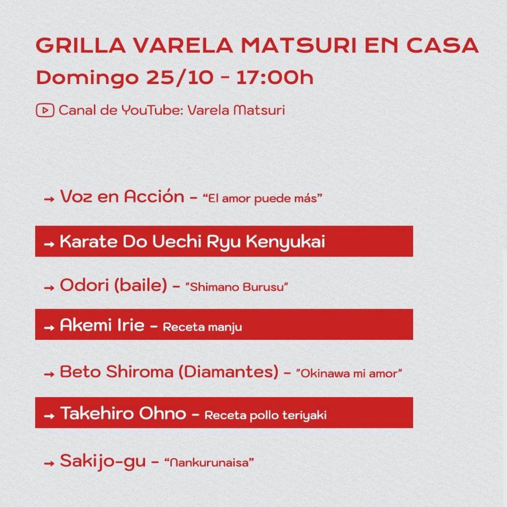 Varela Matsuri 2020